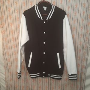 COPY - AWD (all we do) fleece varsity style jacket